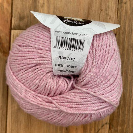 Algodón Just Cotton Lanas Alpaca - a007-rose