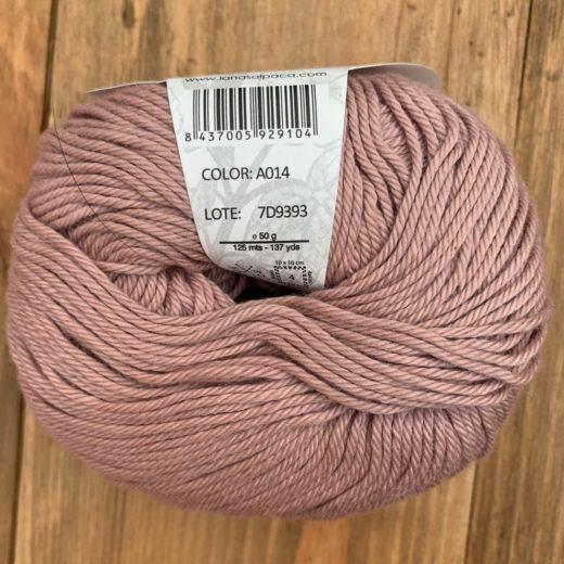Algodón Just Cotton Lanas Alpaca - a014-empolvado