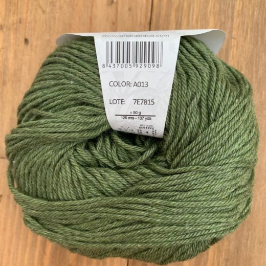 Algodón Just Cotton Lanas Alpaca - a013-forest