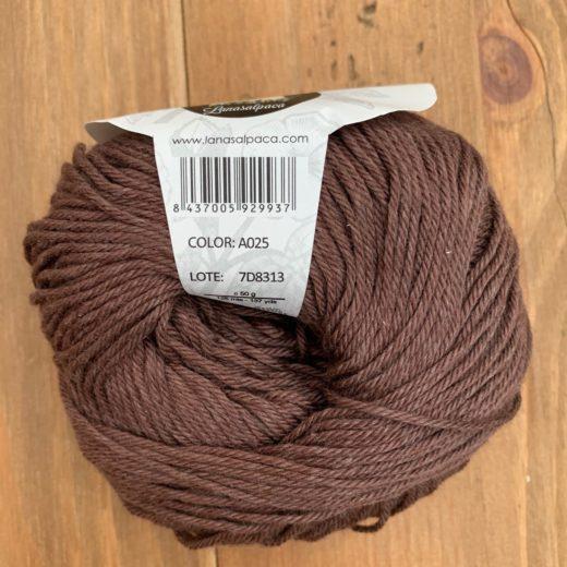 Algodón Just Cotton Lanas Alpaca - a025-choco