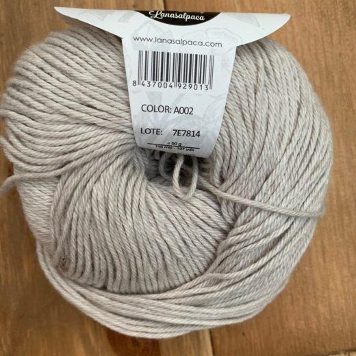 Algodón Just Cotton Lanas Alpaca - a002-pearl