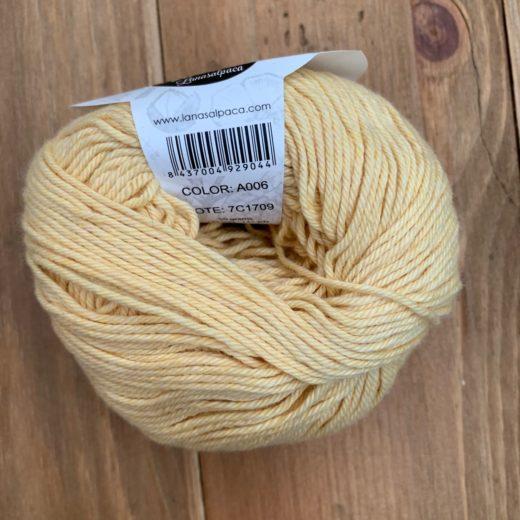 Algodón Just Cotton Lanas Alpaca - a006-lemon