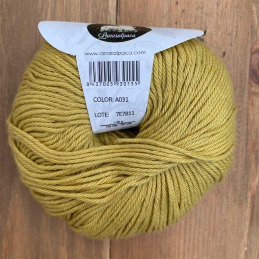 Algodón Just Cotton Lanas Alpaca - a031-trigo