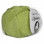 Algodón Just Cotton Lanas Alpaca - a004-verde