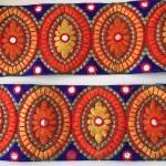 Pasamanerias y galondes India - bordado-jasmine-9cm-ancho