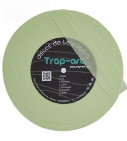 Discos Ligeros de tela - verde-lima