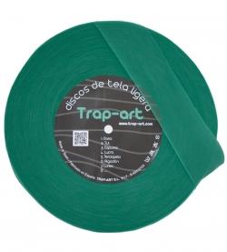 Discos Ligeros de tela - verde-quirofano