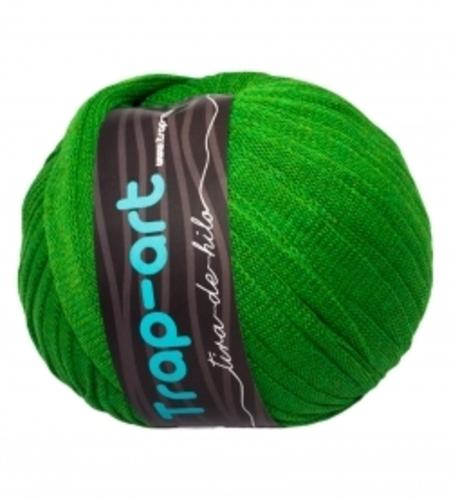 Tiras de hilo Trap Art - verde-cesped