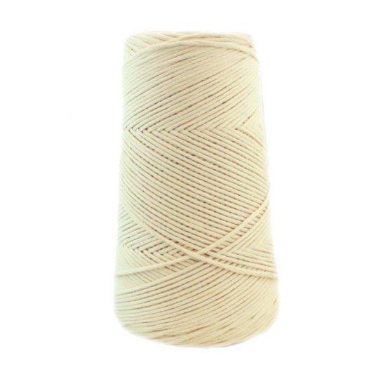 Conos de algodón peinado L (fino) - 1001-crudo