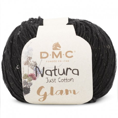 Natura Just Cotton Glam de DMC - 11-negro