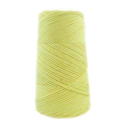 Conos de algodón peinado L (fino) - 1101-amarillo-palido