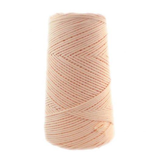 Conos de algodón peinado L (fino) - 1301-salmon