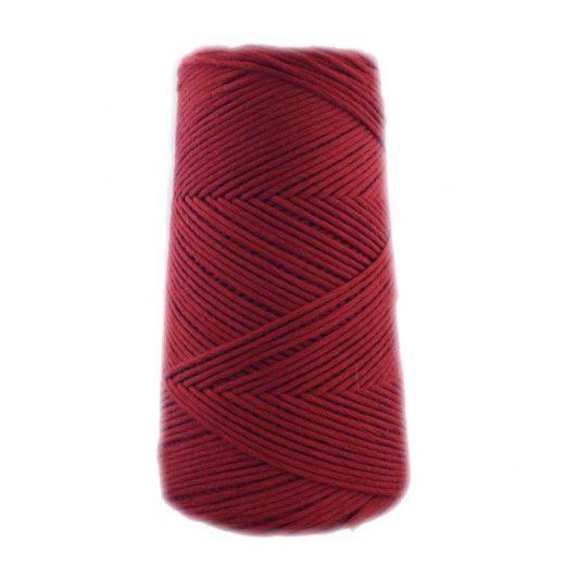 Conos de algodón peinado L (fino) - 1405-granate