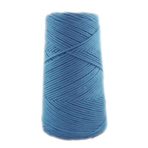 Conos de algodón peinado L (fino) - 1608-azul-acero