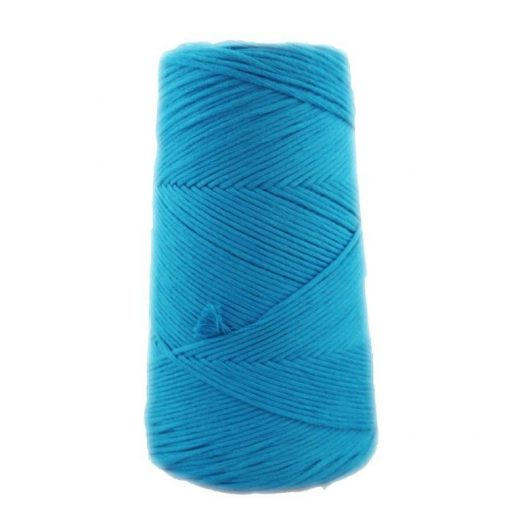 Conos de algodón peinado L (fino) - 1705-verde-azulado