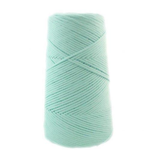Conos de algodón peinado L (fino) - 1802-verde-mint