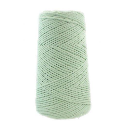 Conos de algodón peinado L (fino) - 1803-verde-agua