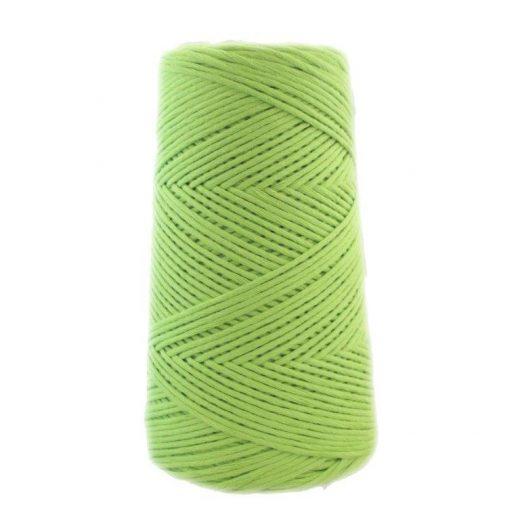 Conos de algodón peinado L (fino) - 1804-verde-kiwi