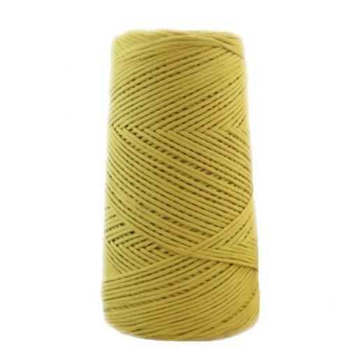 Conos de algodón peinado L (fino) - 1809-pistacho