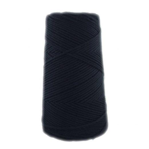 Conos de algodón peinado L (fino) - 2000-negro