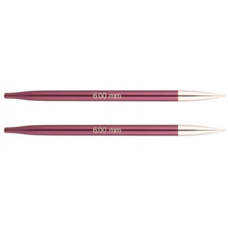 Aguja intercambiables Knit Pro Zing - 6