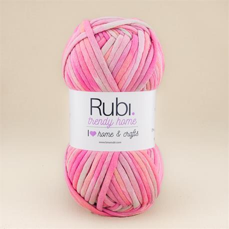 Trendy Home de Lanas Rubí - mezcla-rosas