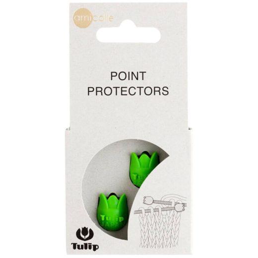 Protectores de agujas Tulip - verde-2-4-5