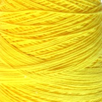 Conos Cotton Nature 3,5 Hilaturas LM - 4128-amarillo-fluor
