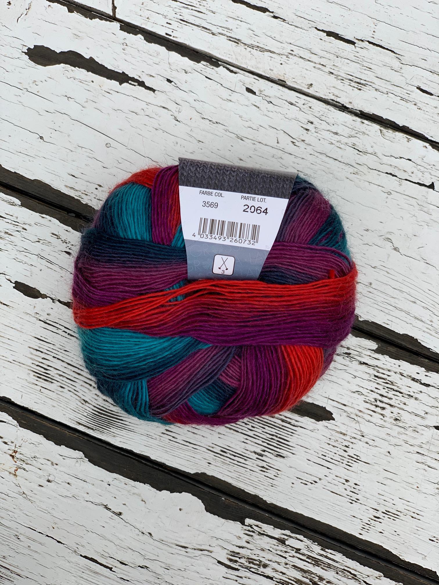 Meilenweit Magico II socks - 3569