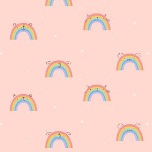 Telas Fabrics - rainbow-jersey