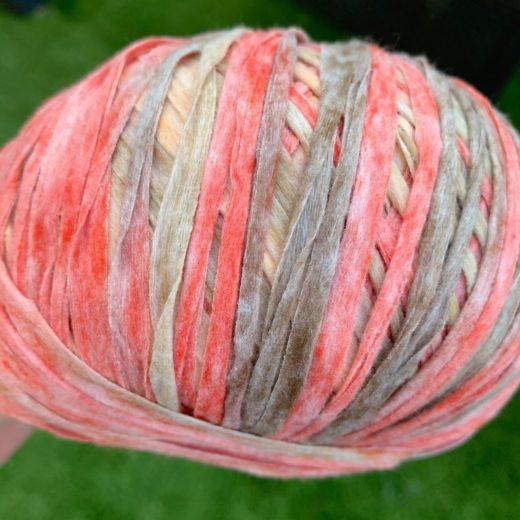 Acuarela cinta plana de papel - mezcla-gris-y-rosa