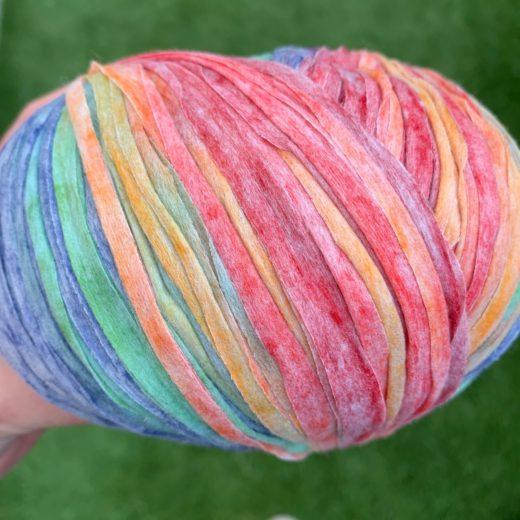 Acuarela cinta plana de papel - arcoiris