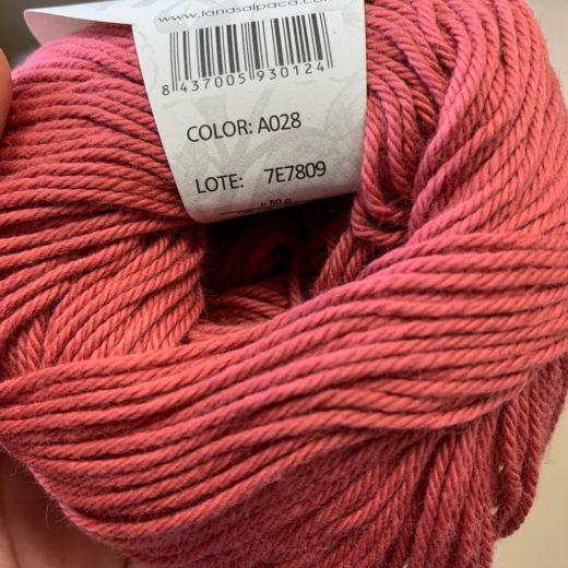 Algodón Just Cotton Lanas Alpaca - a028-coral