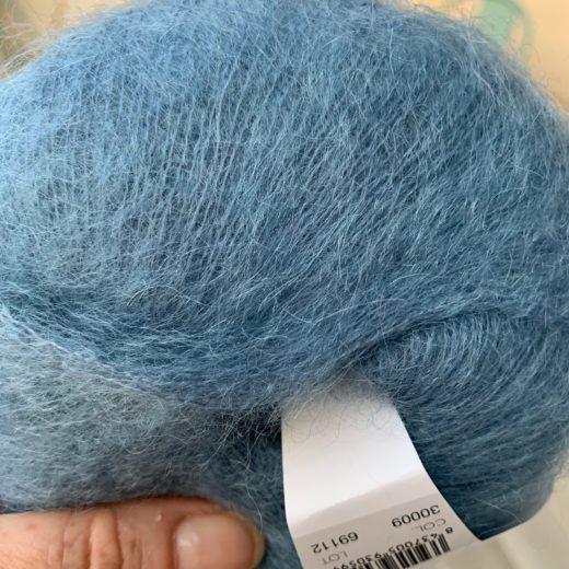 Plumé Mohair de Lanas Alpaca - 30009-sea-blue
