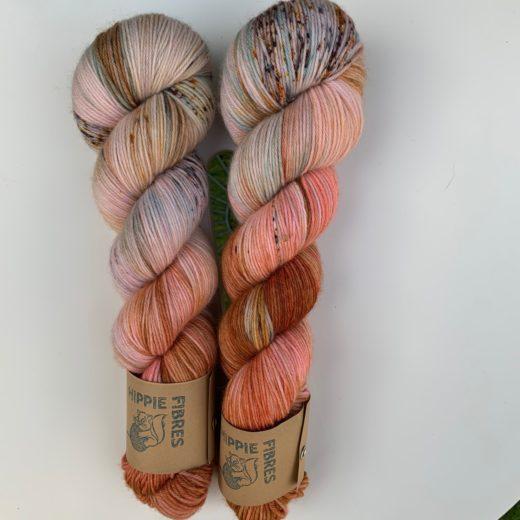 Pure Socks de Hippie Fibres - cinzento