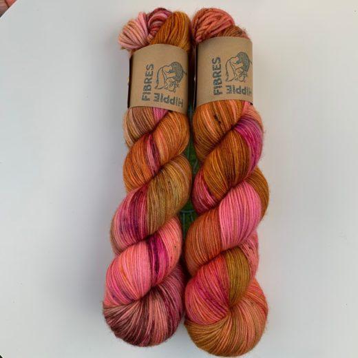 Pure Socks de Hippie Fibres - atardecer