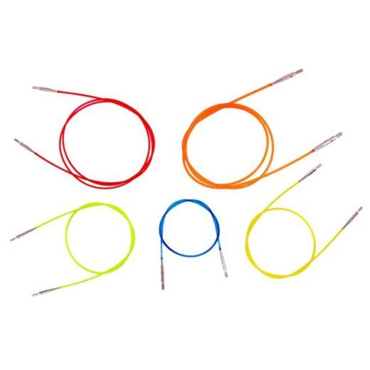 Cables para agujas intercambiables de Knit Pro - 100cm