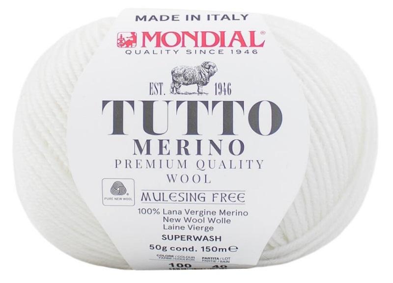 TUTTO MERINO MONDIAL - 100-blanco