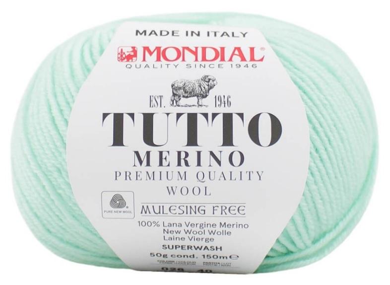 TUTTO MERINO MONDIAL - 26-menta-pastel