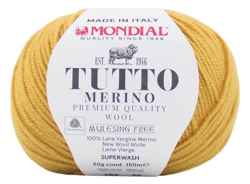 TUTTO MERINO MONDIAL - 285-mostaza