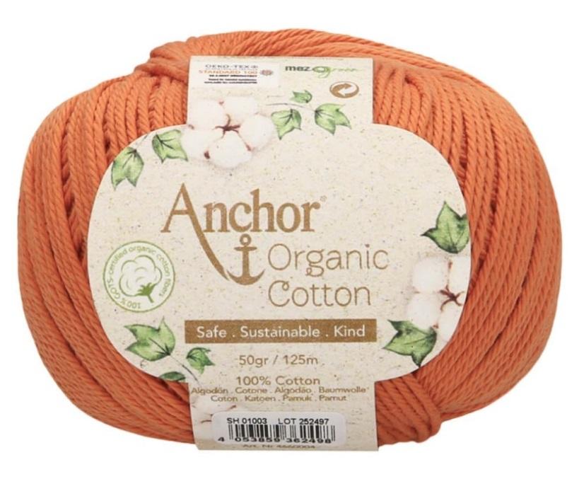 ANCHOR ORGANIC COTTON - 1003-naranja