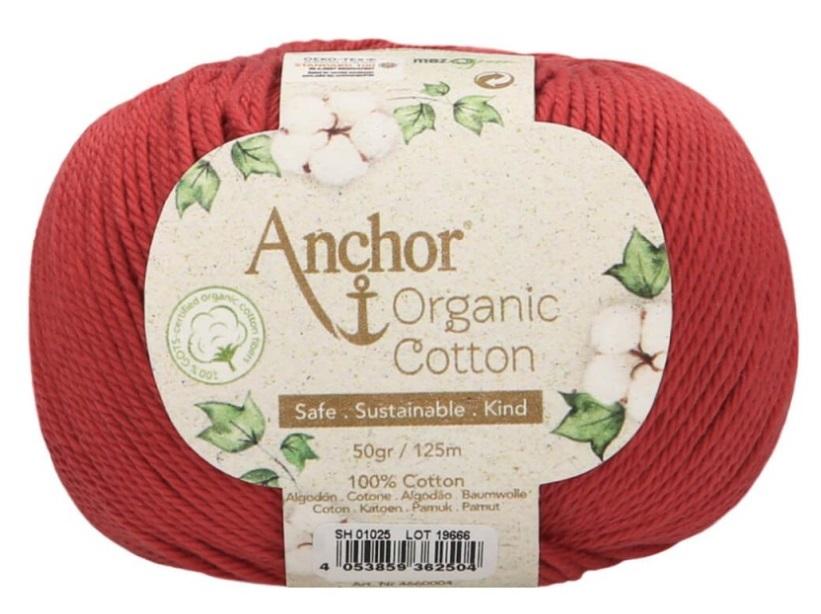 ANCHOR ORGANIC COTTON - 1025-candy