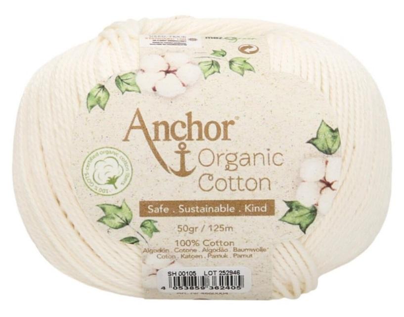 ANCHOR ORGANIC COTTON - 105-marfil