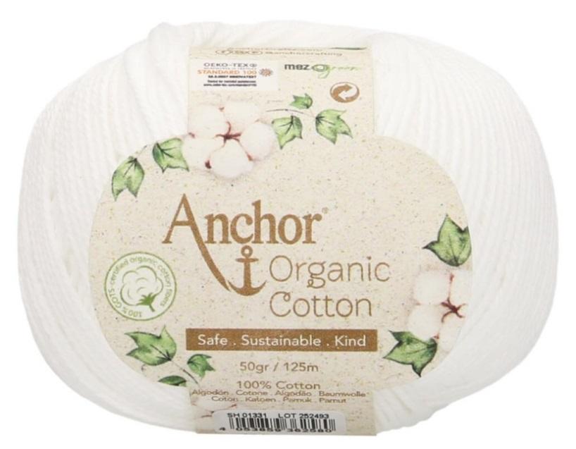 ANCHOR ORGANIC COTTON - 1331-blanco
