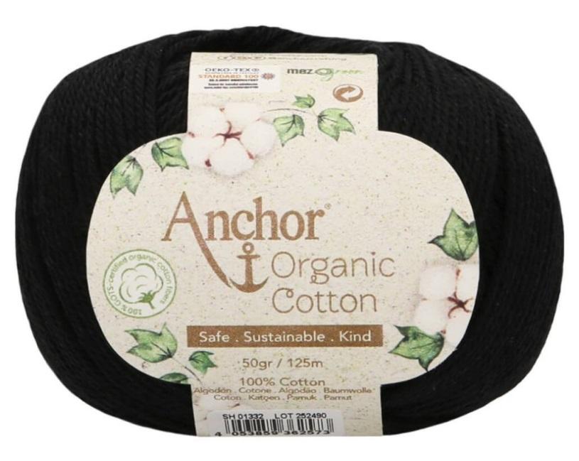 ANCHOR ORGANIC COTTON - 1332-negro