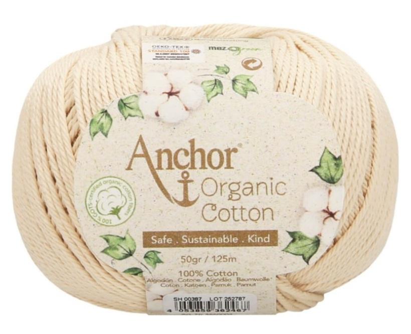 ANCHOR ORGANIC COTTON - 387-crudo