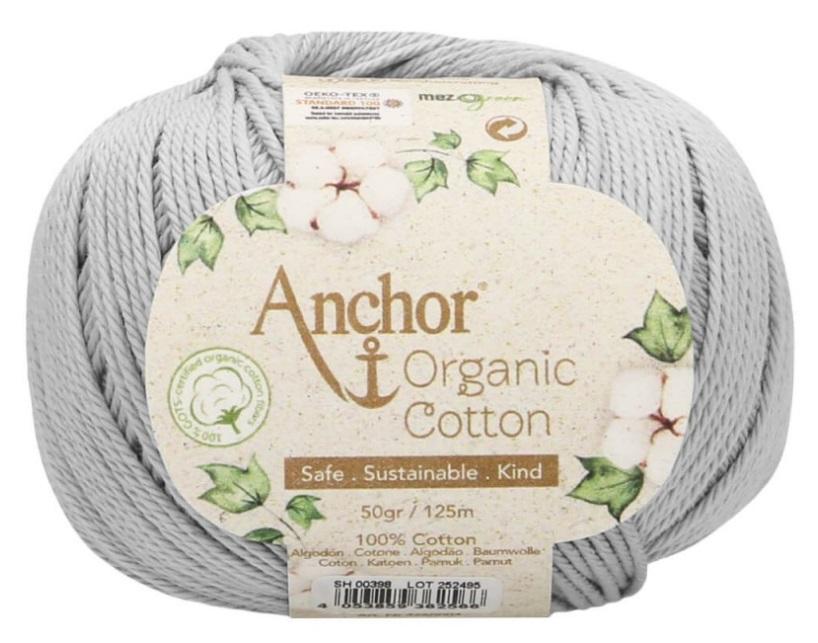 ANCHOR ORGANIC COTTON - 398-gris-claro