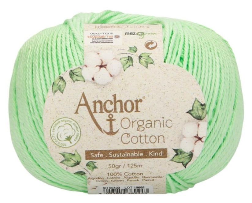 ANCHOR ORGANIC COTTON - 403-verde-manzana
