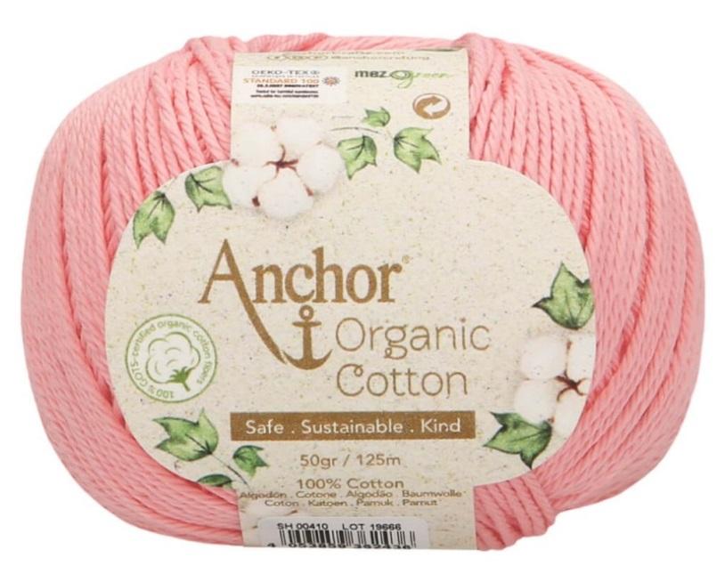 ANCHOR ORGANIC COTTON - 410-rosa-baby