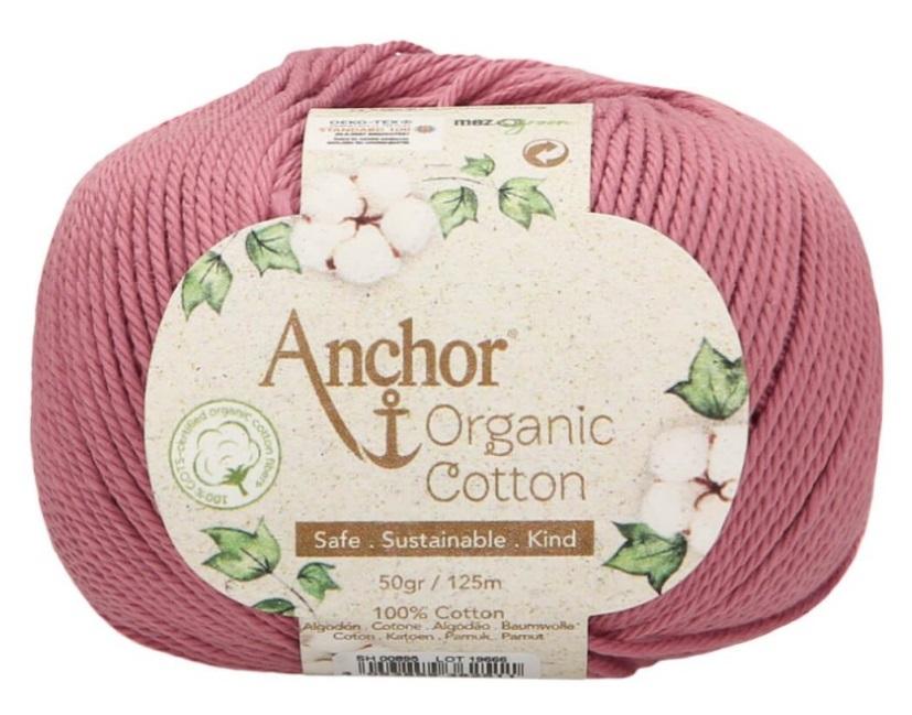 ANCHOR ORGANIC COTTON - 895-rosa-palo